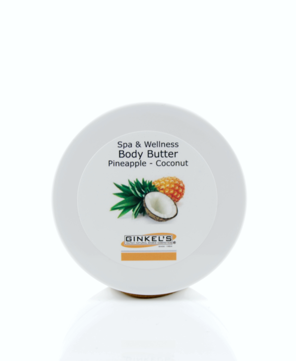 Body Butter ananas en kokosnoot.
