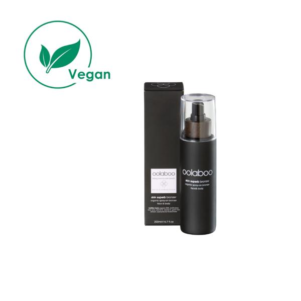 organic spray-on bronzer 200 ml