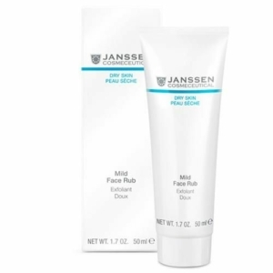 mild face rub janssen cosmetics
